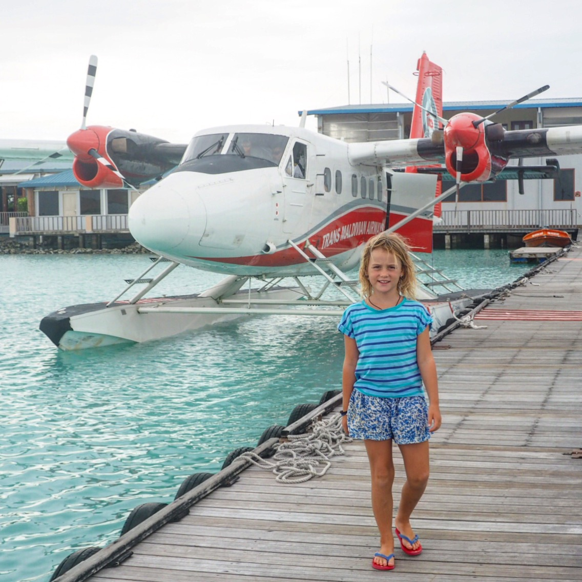 OUR FIRST FLIGHT ON A SEAPLANE